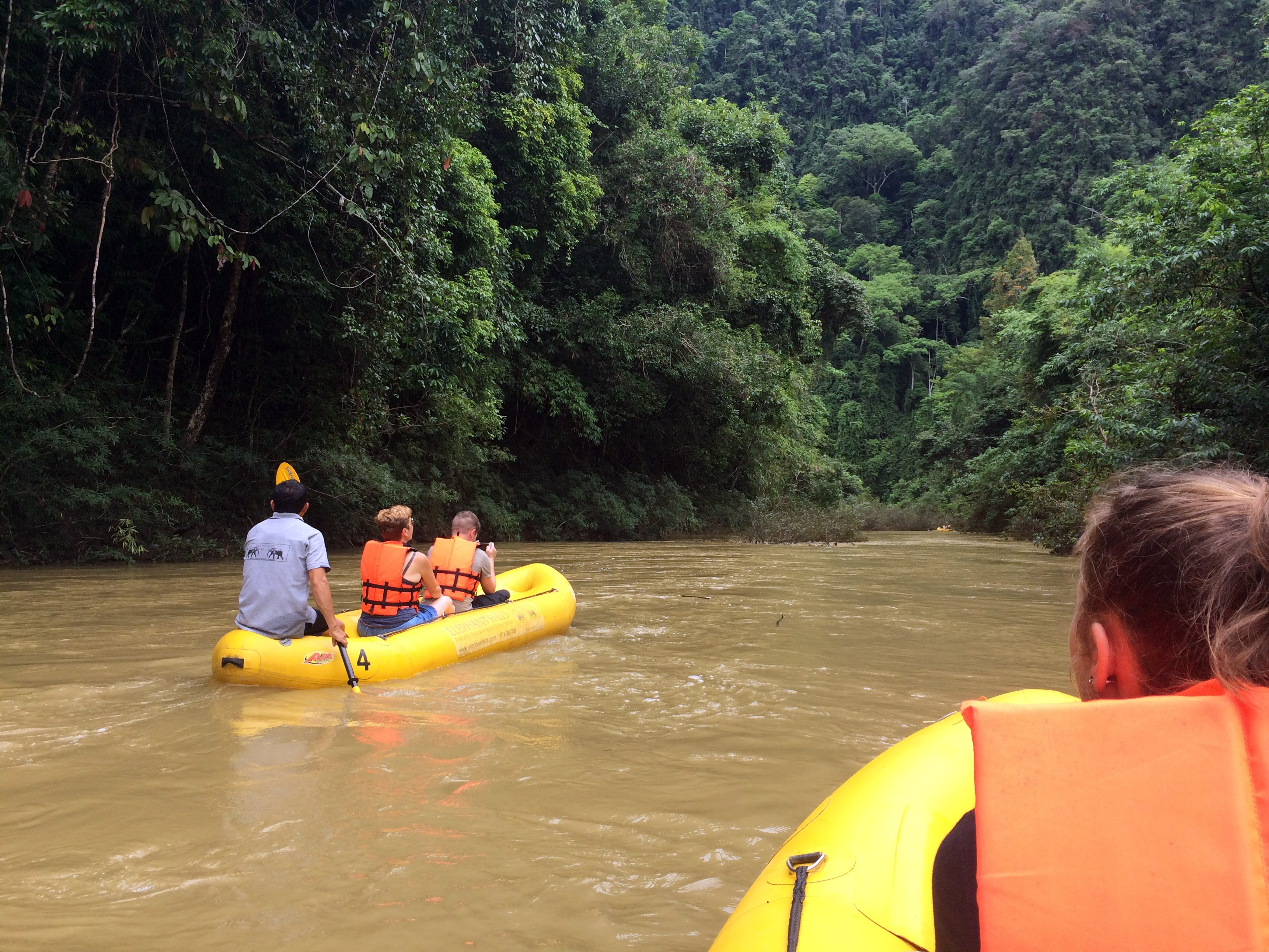 Elephant Hills jungle camp rafting (2)